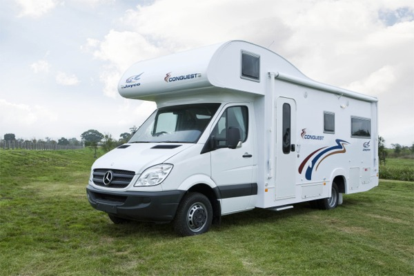 Jayco Mercedes Benz Conquest Motorhome ext
