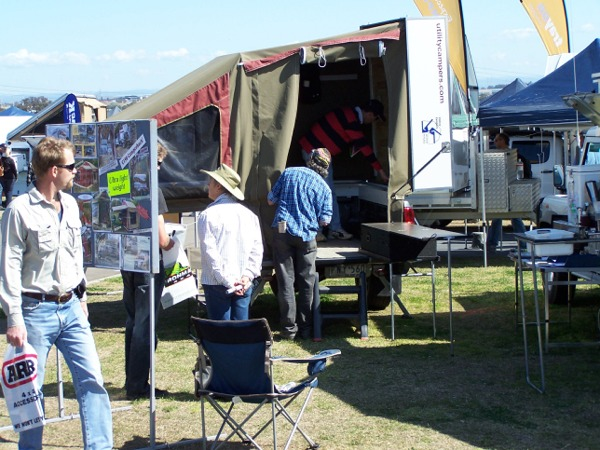 Utility Campers 4WD Adventure Show Brolga