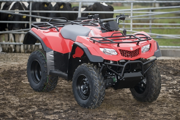 KingQuad 400ASi 2WD Automatic Joins Suzuki ATV Range