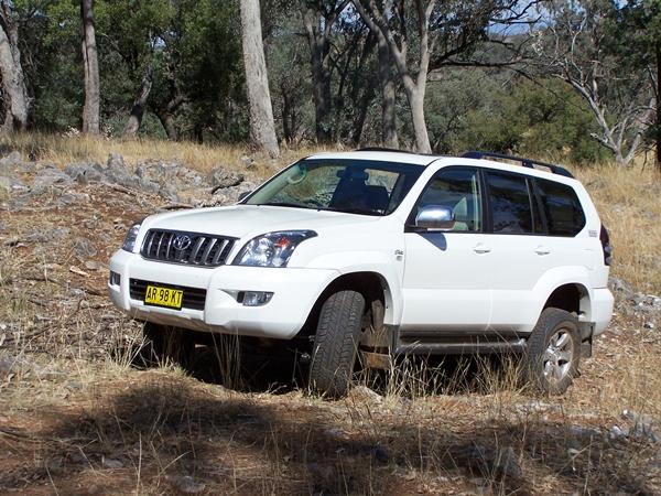 Toyota Landcruiser Prado VX Diesel 120 Series