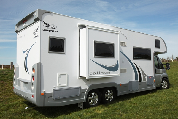 2011 Jayco Optimum Motorhome exterior slide out