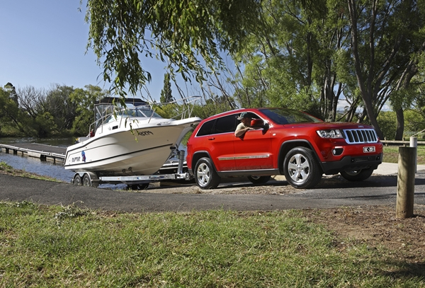 2011 Jeep Grand Cherokee Laredo towing
