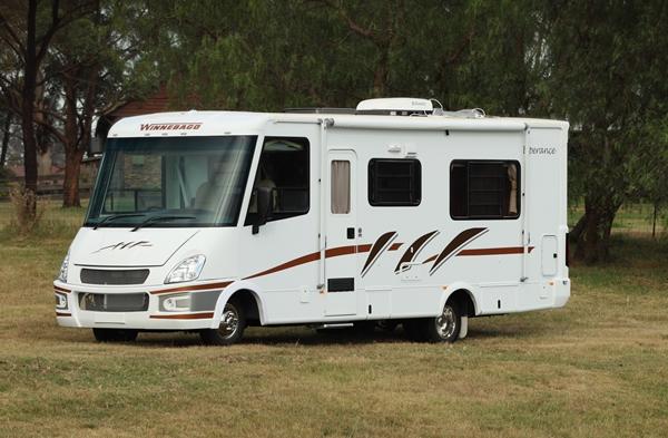 Winnebago Esperance Premium A Class Motorhome exterior