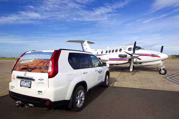 Nissan Australia Supports The Royal Flying Doctor Service