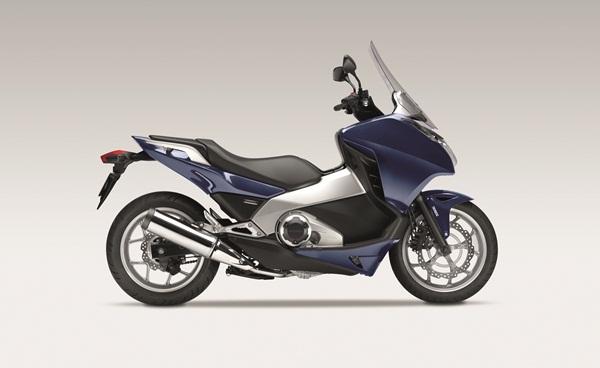 2012 Honda Integra 670cc scooter.