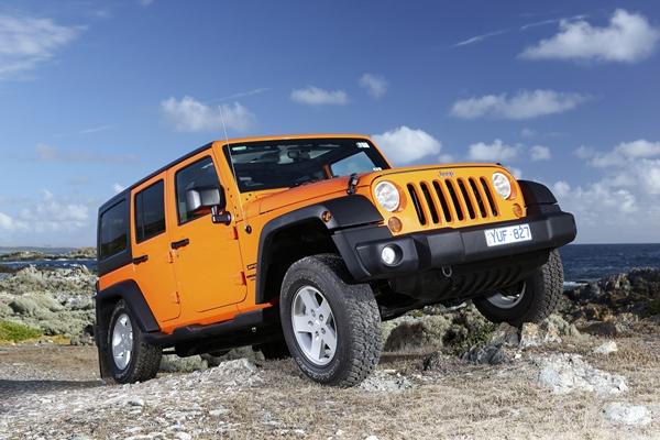 2012 Jeep Wrangler upgrade