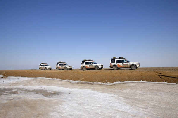 Land Rover Journey Of Discovery - Moscow to Uzbekistan