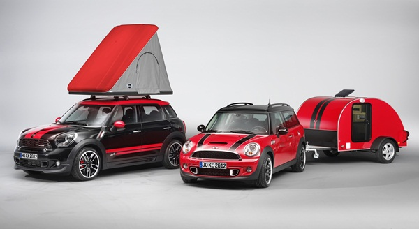 MINI goes Campng Concept