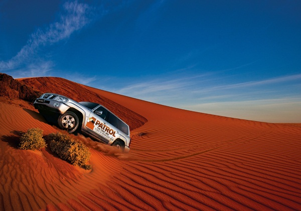 Patrol 50 Anniversary desert incline