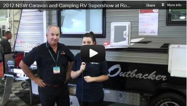 2012 NSW Caravan and Camping RV Supershow at Rosehill