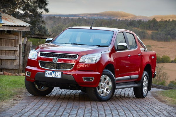 Holden Colorado LTZ Crew Cab-5 star ANCAP