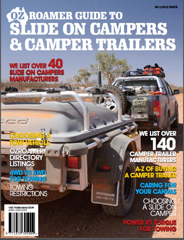 OzRoamer Guide to Slide on Campers and Camper Trailers Cover 600