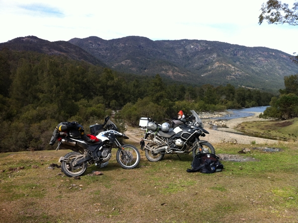 On track for a great 2012 BMW GS Safari