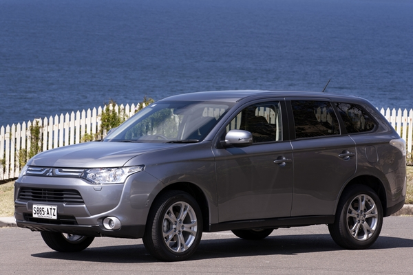 all new Mitsubishi Outlander in Australia