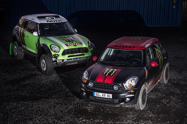 Dakar Rally 2013 MINI Monster Energy X-Raid Team