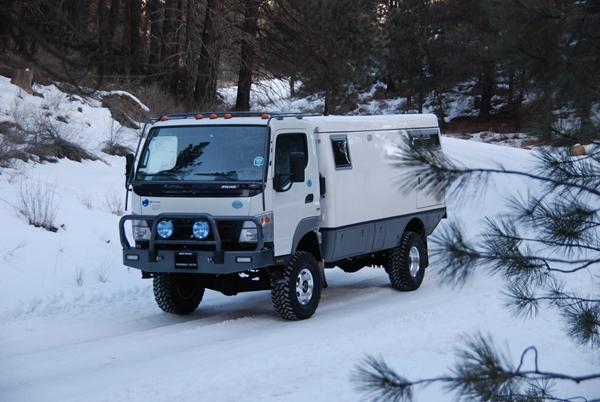 Earthcruiser 4X4 RV Motorhome