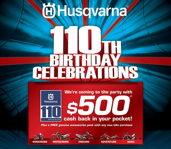 Husqvarna 110th Birthday Celebrations