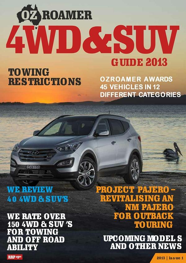 OzRoamer 4WD & SUV Guide 2013