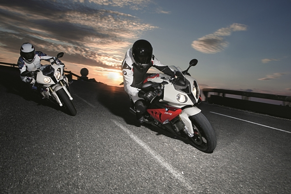 Just Ride. Free insurance on BMW motorcycles.