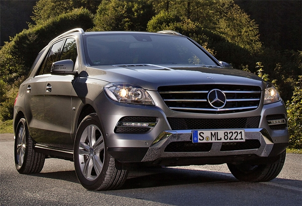 Mercedes Benz ML500 ext