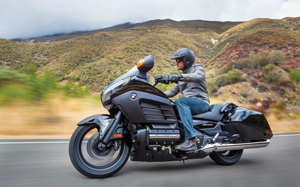 2013 Honda Gold Wing F6B.