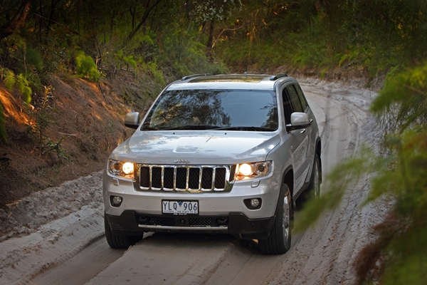 Jeep Grand Cherokee Overland V6 Diesel EXT