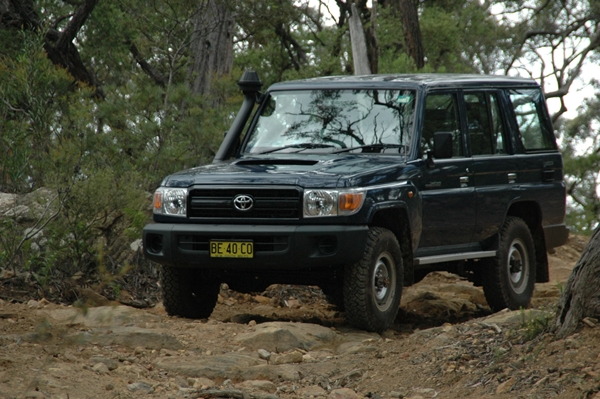 Toyota Landcruiser 76 series workmate wagon ext