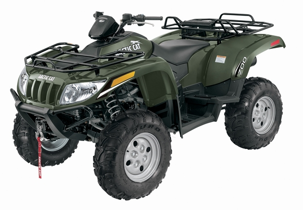 Arctic Cat Super Duty 700cc Diesel ATV.