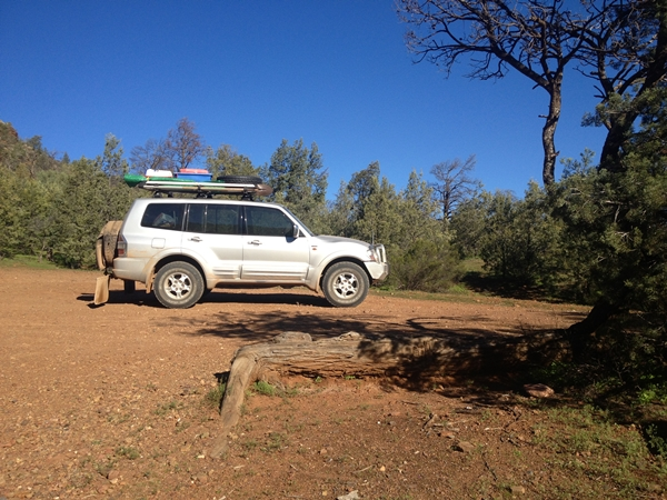Project Pajero Flinders Ranges Pt1