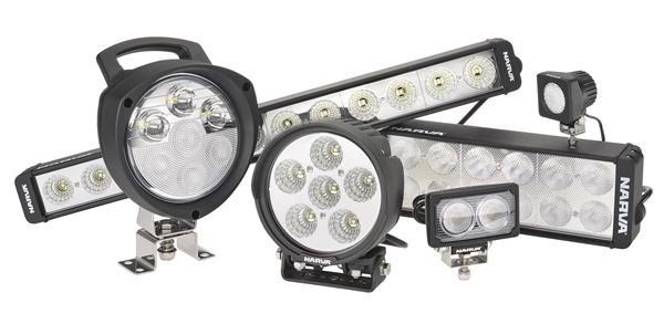 2013 Narva's L.E.D work lamp range
