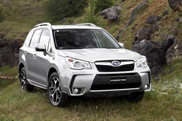 Subaru Forester XT Premium front