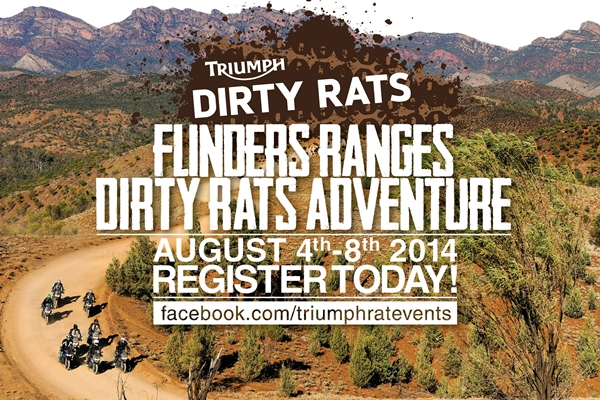 Triumph's Flinders Ranges Dirty RATS Adventure