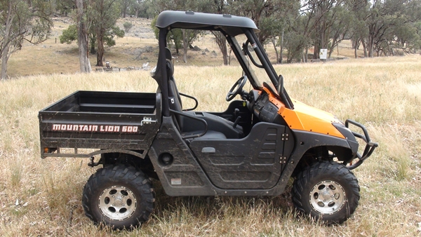 Cougar RP Mountain Lion 600 Side by Side ATV Review