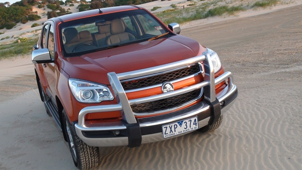 2014 Holden Colorado LTZ 2014 Front