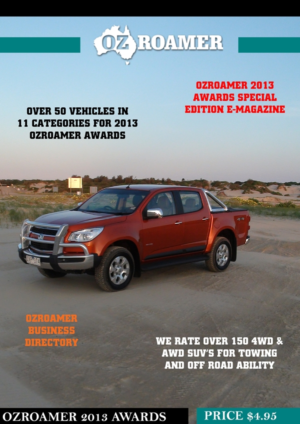 OzRoamer 2013 4WD & AWD SUV Awards