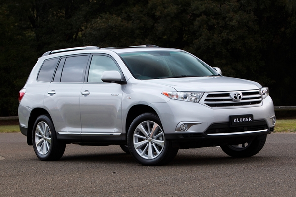 Toyota Kluger Ð one of AustraliaÕs best-selling SUVs (Grande model shown)