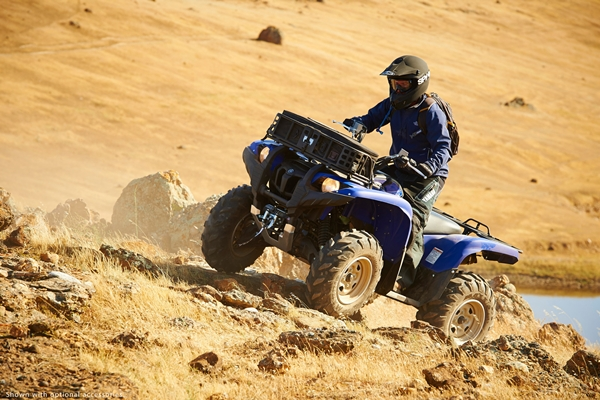 2014 Yamaha Grizzly 700 EPS.