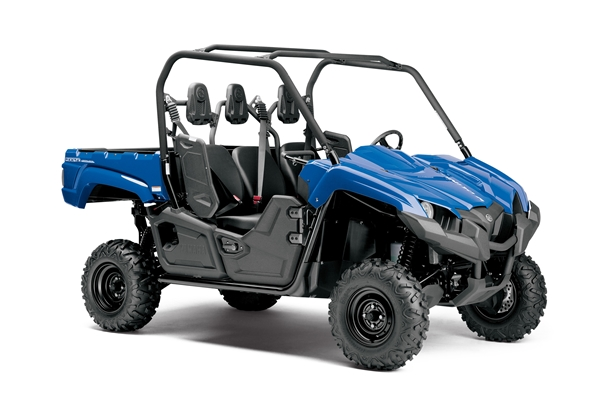 Yamaha all new viking three seater atv for Yamaha viking 3 seater