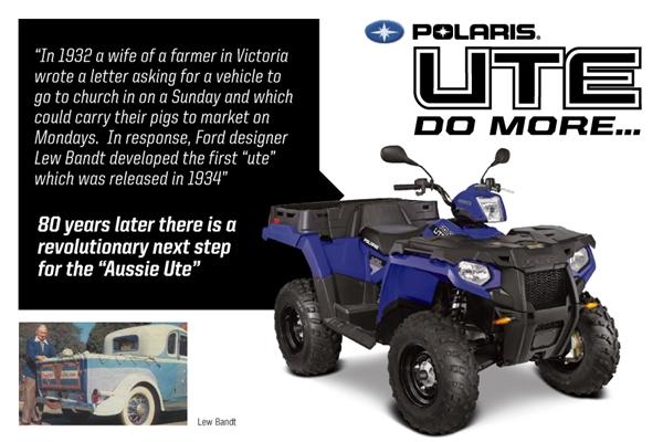 Polaris UTE 570.  * .