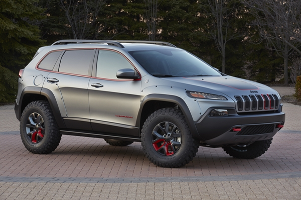 Jeep Cherokee Dakar is one of six concept vehicles developed by