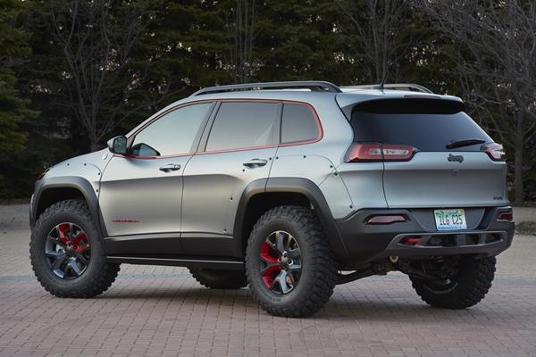 Jeep Cherokee Dakar