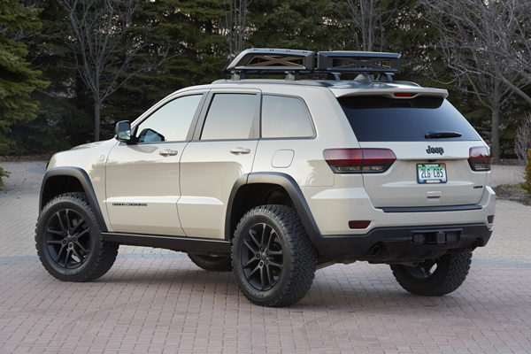 eep Grand Cherokee EcoDiesel Trail Warrior