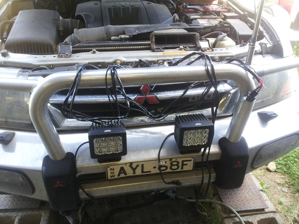 Project Pajero KORR Lights