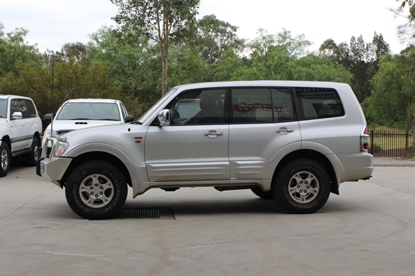 Mitsubishi Pajero after suspension upgrade
