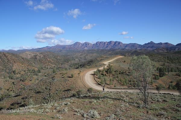 Project Pajero at Bunyeroo Gorge Flinders Ranges 2