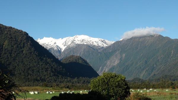2014 NZ Franz Josef Glacier from Glenfern Villas