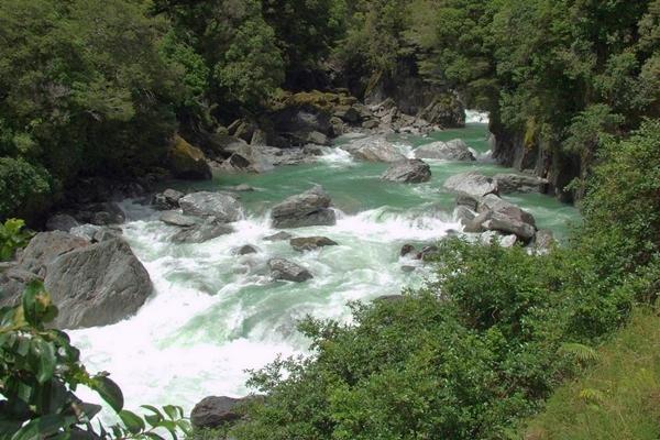 NZ 2014  Haast River