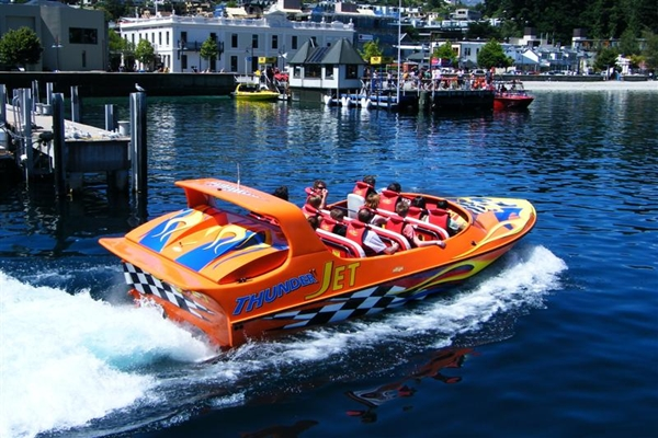 NZ 2014 Queenstown Thunder Jet Boat