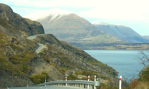 NZ 2014 Road FROM Glenorchy