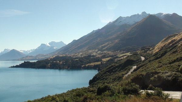 NZ 2014 Road to Glenorchy